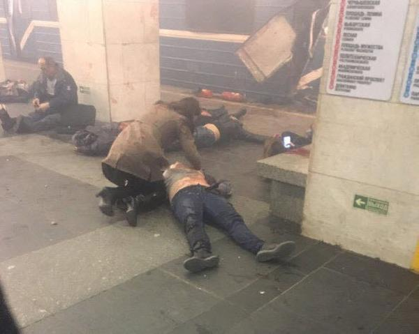 Rusya'da metro istasyonunda patlama