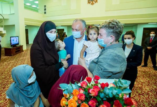 YPG kampından kurtarılan Moldovalı kadın ve çocuklarıyla ilgili MİT operasyonun detaylarına DHA ulaştı