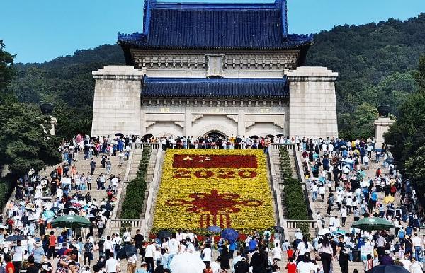 Çin'den korkutan kutlama! (DHA)