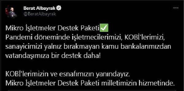 BAKAN ALBAYRAK,