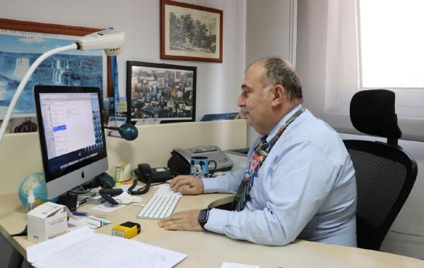 BILIM KURULU UYESI PROF. DR. ATES KARA, YARIN ISTANBUL'DA YAPILACAK BILIM KURULU TOPLANTISINA ILISKIN DHA'YA ACIKLAMA YAPTI FOTO-SADUMAN-UNUTMAZ-ANKARA-DHA