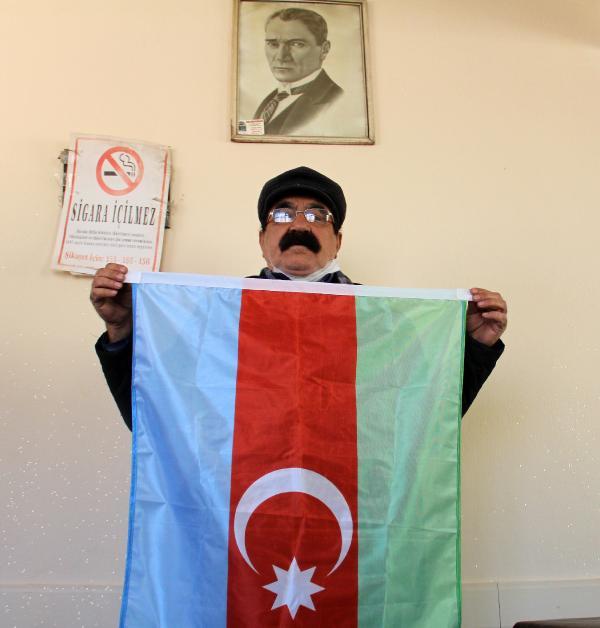 YILLAR ONCE GOC EDEREK AFYONKARAHISAR'IN BOLVADIN ILCESINE YERLESEN KARABAG TURKLERI, AZERBAYCAN'IN SUSA'YI ERMENISTAN ISGALINDEN KURTARMASINI SEVINCLE KARSILADI. (RAMAZAN CETIN) (FOTO:ILYAS KAAN TAYTAK/BOLVADIN-DHA)