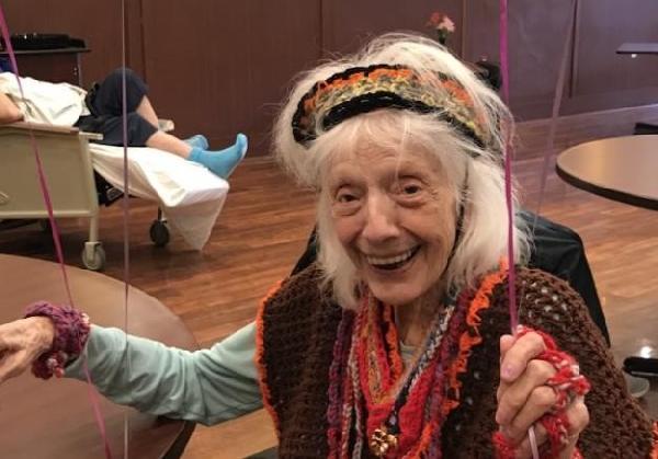 102 yaşındaki 1918 gribini yaşayan ABD'li kadın koronavirüsü iki kez yendi (DHA)