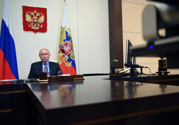 Putin, Biden'ı tebrik etti (DHA)