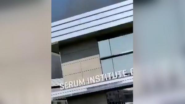 Dünyanın en büyük aşı üreticisi olan Hindistan Serum Enstitüsü'nde yangın (DHA)