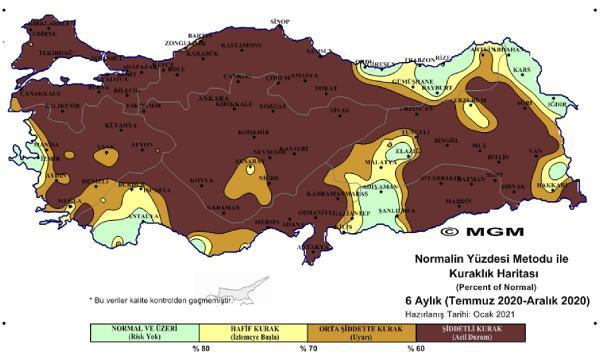 METEOROLOJI GENEL MUDURLUGU VE NASA'NIN YAYINLADIGI HARITALARLA TURKIYE'NIN SON DONEMDE YASADIGI CIDDI KURAKLIK TEHDIDIYLE ILGILI BIR UYARIDA WWF-TURKIYE'DEN (DOGAL HAYATI KORUMA VAKFI) YAPILDI. WWF'IN GERCEKLESTIRDIGI SU RISKI FILTRESI CALISMASINA GORE TURKIYE'DE ARALARINDA ISTANBUL, ANKARA, IZMIR, ANTALYA GIBI SEHIRLERIN OLDUGU TOPLAM 10 KENTIN KURESEL OLCEKTE YUKSEK SU RISKI TASIDIGI ACIKLANDI. (METEROLOJI HARITASI) (FOTO:ANTALYA-DHA)