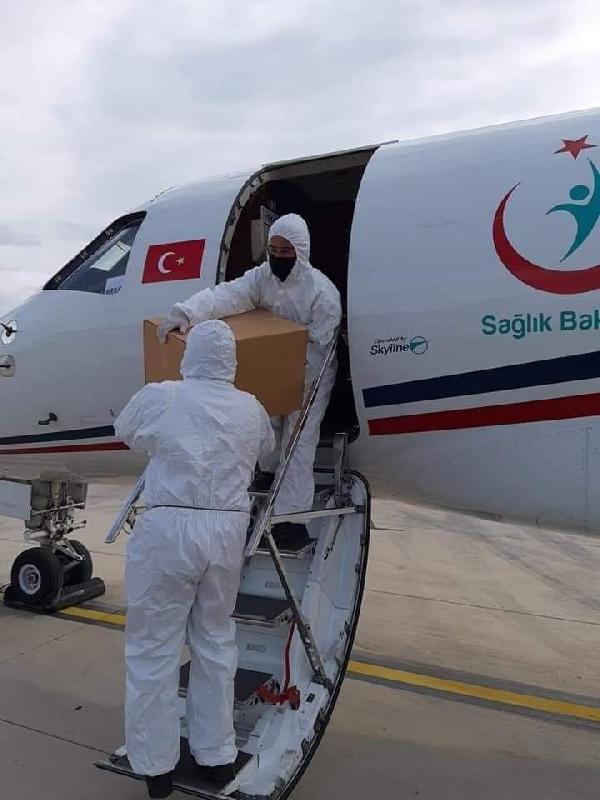 Türkiye KKTC'ye 20 bin doz Sinovac aşısı daha (DHA)