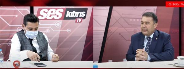 KKTC Başbakanı Saner kendini karantinaya aldı (DHA)