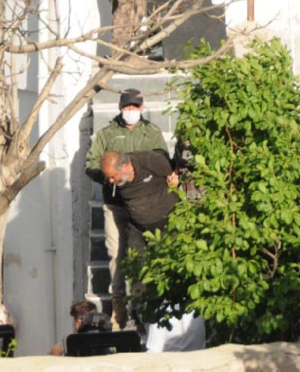 KAYSERI'DE CEVREYE RASTGELE ATES ACAN HALUK TAFLI, POLISIN OPERASYONUYLA GOZALTINA ALINDI.  FOTO: YASIN DALKILIC-KAYSERI-DHA