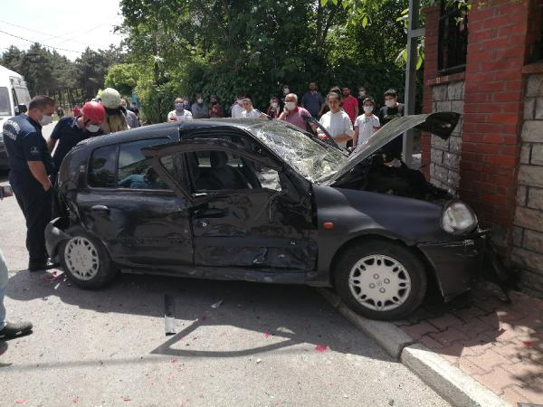 Cip ve otomobil çarpıştı! 2 kişi yaralandı 1 – aaac5126fdc4d846e759937e872a75c4