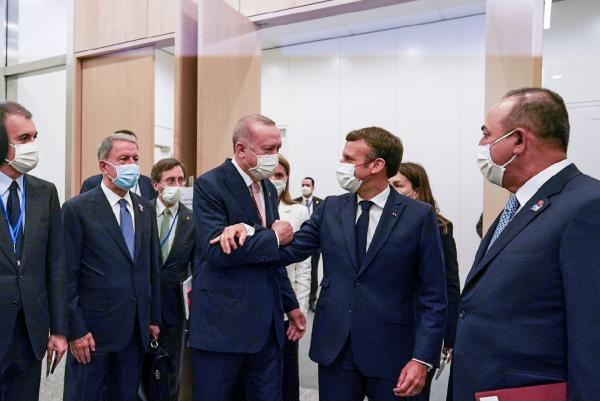 Cumhurbaşkanı Erdoğan'ın NATO temasları, dünya basınında geniş yer buldu (DHA)