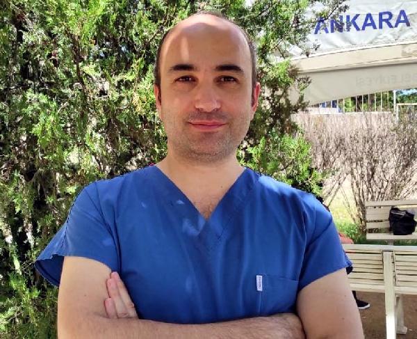 DOC. DR. UMIT SAVASCI, DELTA VARYANTINA ILISKIN DHA'YA DEGERLENDIRMELERDE BULUNDU FOTO-ANKARA-DHA