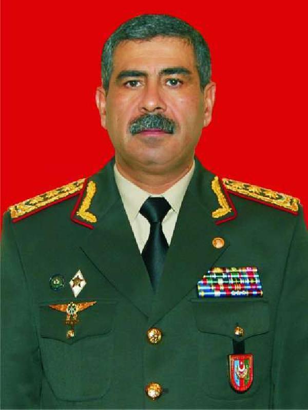 Azerbaycan Savunma Bakanı Hasanov: Bizi savaş imtihanına Türk Silahlı Kuvvetleri hazırladı (DHA)