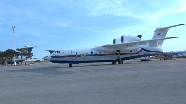 Azerbaycan'dan anfibi yangın söndürme uçağı (DHA)