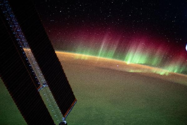 Uzaydan Hint Okyanusu'ndaki kuzey ışıkları görüntülendi (DHA)