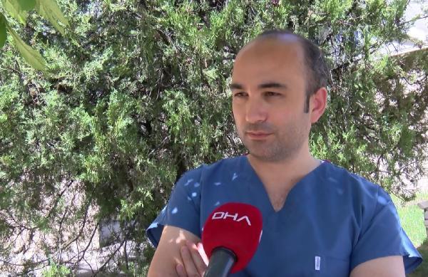 DOC. DR. UMIT SAVASCI, DHA'YA DEĞERLENDİRMELERDE BULUNDU FOTO-ANKARA-DHA
