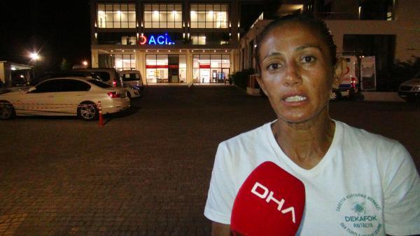 ANTALYA'DA, YASAGA RAGMEN, GECE ATV ARACLARIYLA SAHILE GIREREK CARETTA CARETTA YUVALARINI EZDIGI IDDIA EDILEN IBRAHIM ISBILIR (35) VE BILAL BELEN (29) JANDARMA TARAFINDAN YAKALANDI.(SEHER AKYOL)(FOTO:MANAVGAT-DHA-ARSIV)