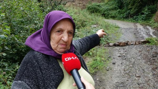 "BEDRIYE BULUT ""IRMAK TASKININA ONLEM ALINMALI"" DEDI.  FOTO: DHA"