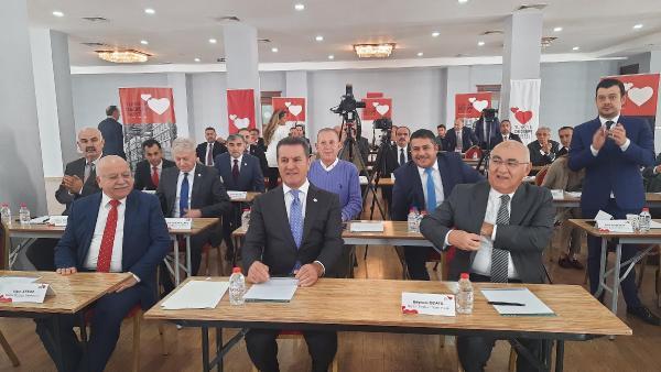 TURKIYE DEGISIM PARTISI GENEL BASKANI MUSTAFA SARIGUL, 5 T FORMULUNUN ULKENIN KURTULUSU OLACAGINI SOYLEDI FOTOGRAF-ERGUN AYAZ-KARTEPE-DHA