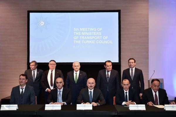 Bakan Karaismailoğlu, Türk Konseyi 5. Ulaştırma Bakanları Toplantısı'na katıldı (DHA)